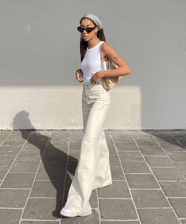 Amaka Hameliknck - Casual - calça pantalona - Verão - Steal the Look  - https://stealthelook.com.br