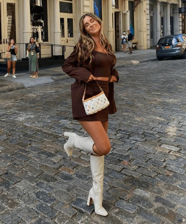 Allison Whalen - Street Style - como usar botas - Verão - Steal the Look  - https://stealthelook.com.br
