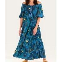 vestido cropped floral alicia