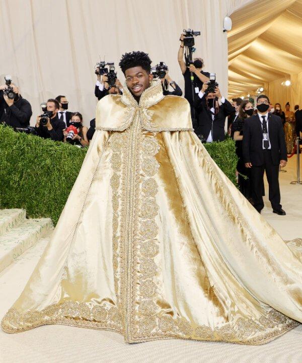 Lil Nas X - 2021 - MET Gala - Vogue - Metropolitan Museum of Art - https://stealthelook.com.br