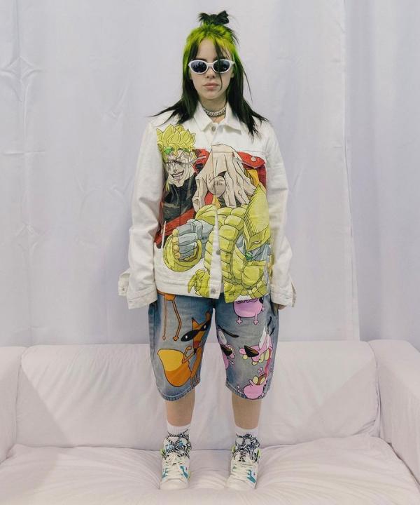 Billie Eilish - Street Style - moda swag - Verão - Steal the Look  - https://stealthelook.com.br