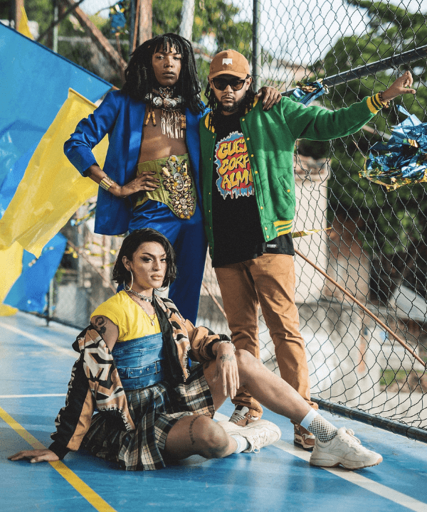 Emicida, Majur, Pabllo Vittar - Street Style - moda swag - Verão - Steal the Look  - https://stealthelook.com.br