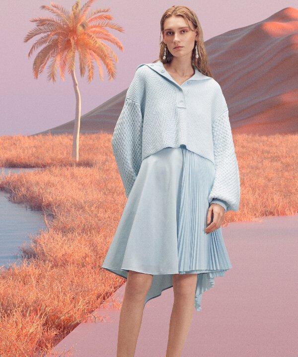 Adeam - 2022 - New York Fashion Week - Primavera - Verão - cores - https://stealthelook.com.br