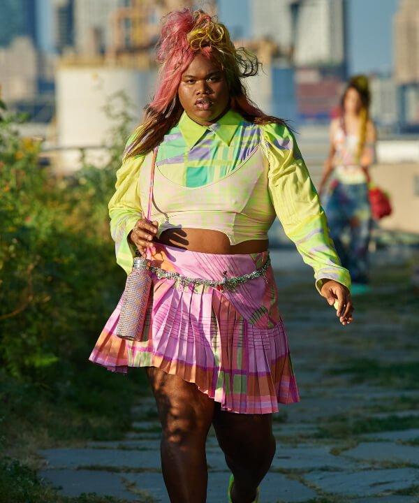 Collina Strada - cores - New York Fashion Week - Primavera - Verão - estampas  - https://stealthelook.com.br