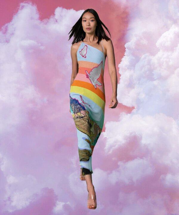 Nicole Miller - 2022 - New York Fashion Week - Primavera - Verão - estampas  - https://stealthelook.com.br