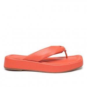 Tamanco Shoestock Flatform Comfy Color - Feminino - Laranja