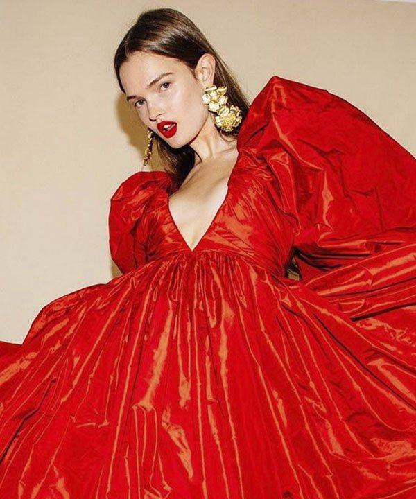 desfile carolinna herrera - Beleza CH - NYFW 2022 - Batons Carolina Herrera  - New York Fashion Week  - https://stealthelook.com.br