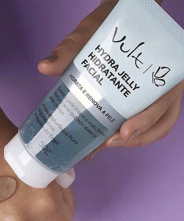 vult  - Jelly AH vult  - lançamentos de beleza  - gel de hidratação  - produtos de skincare  - https://stealthelook.com.br