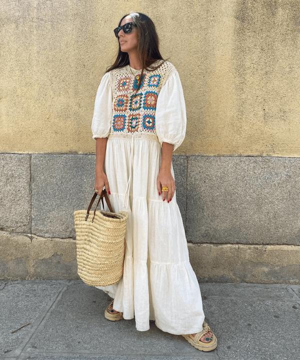 Laura Eguizabal - looks com crochet - verão 2022 - Verão - Steal the Look  - https://stealthelook.com.br