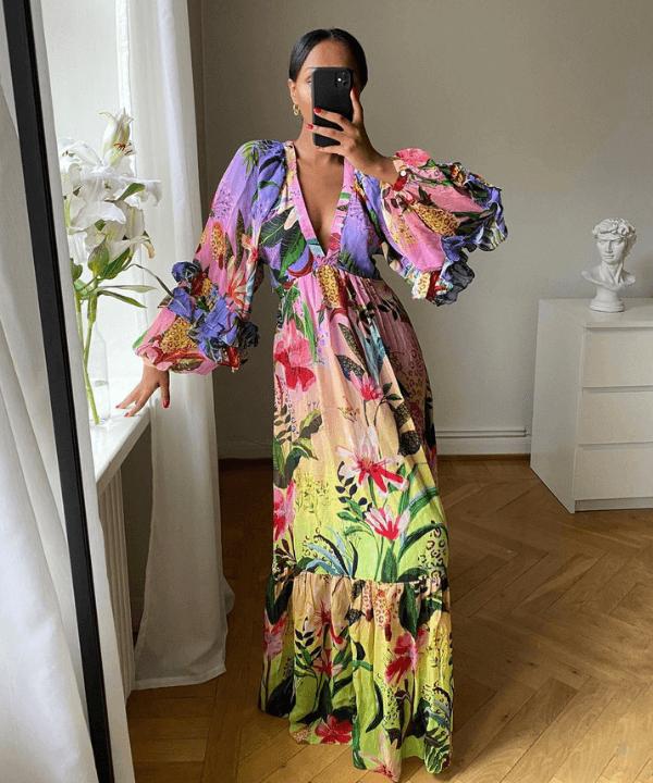 Lydia   @femmeblk - Vestido - vestidos estampados - Primavera - Steal the Look  - https://stealthelook.com.br