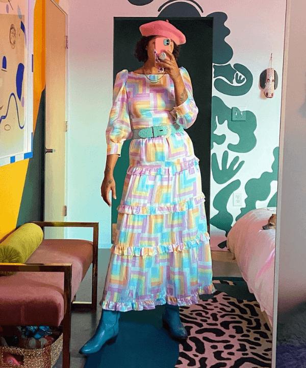 Michelle Norris - Vestido - vestidos estampados - Primavera - Steal the Look  - https://stealthelook.com.br