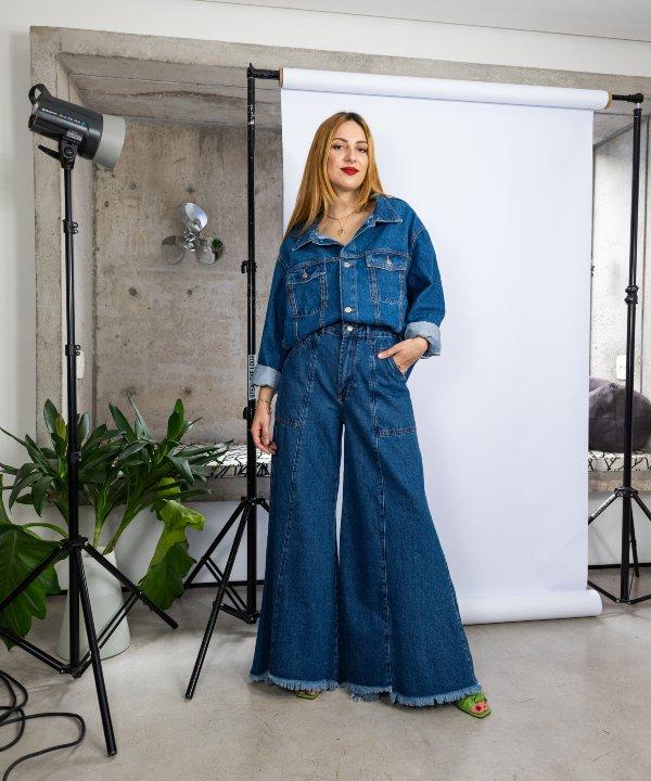 Ali Santos - farm - calças jeans - re-FARM - jeans - https://stealthelook.com.br