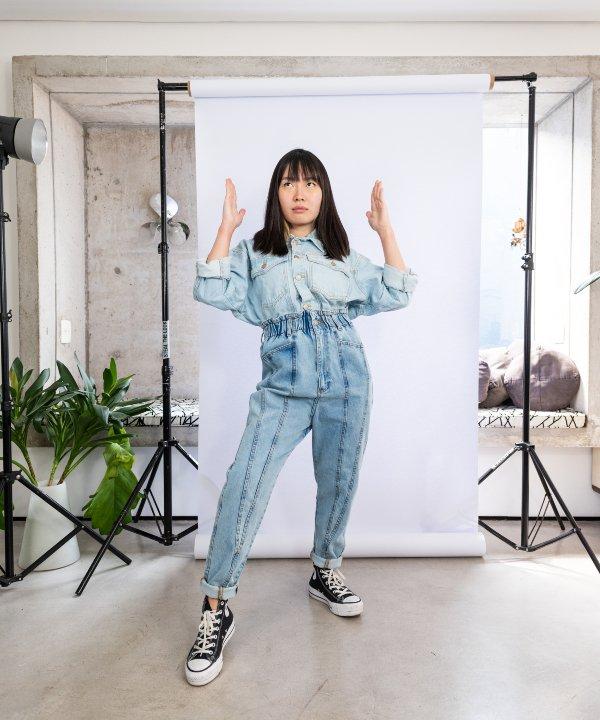 Milena Otta - farm - calças jeans - re-FARM - jeans - https://stealthelook.com.br