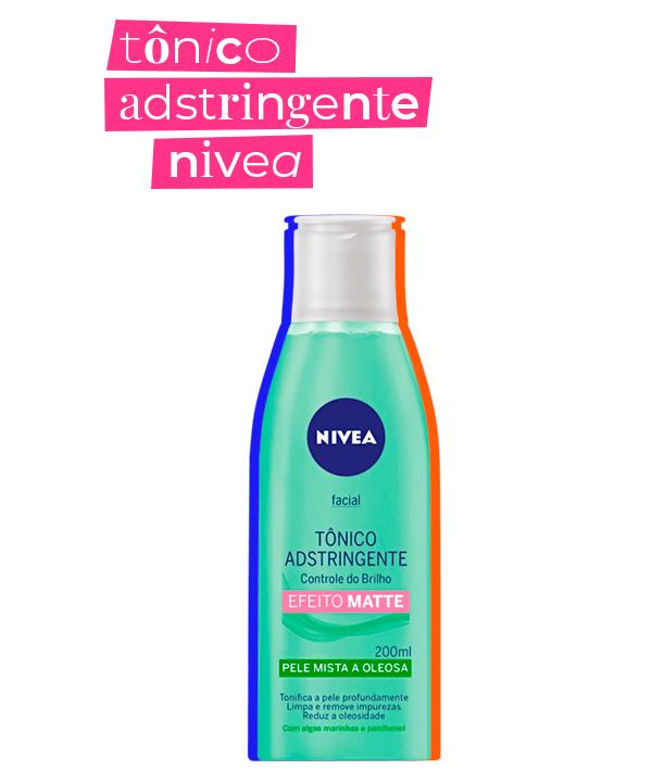 tônico facial  - nivea  - skincare acessível  - tonificante facial  - limpeza do rosto  - https://stealthelook.com.br