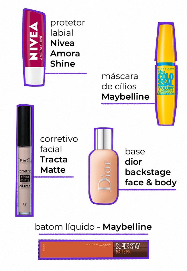 nécessaire de beleza  - necessaire de viagem  - itens de beleza  - looks stealers  - base dior  - https://stealthelook.com.br