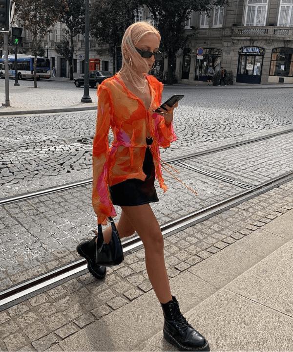 Sofia Coelho - Street Style - como usar minissaia - Verão - Steal the Look  - https://stealthelook.com.br