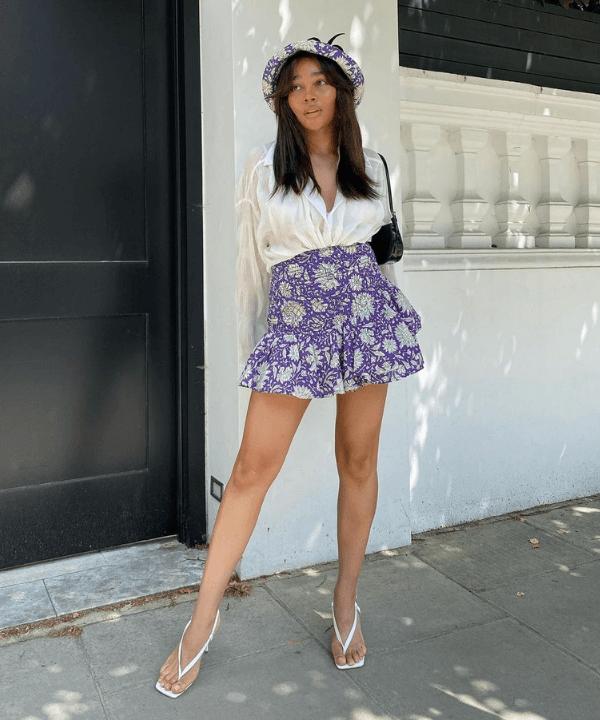 Gigi Vassallo - Street Style - como usar minissaia - Verão - Steal the Look  - https://stealthelook.com.br