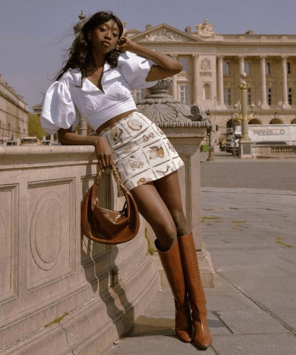 Emmanuelle Koffi - Street Style - como usar minissaia - Verão - Steal the Look  - https://stealthelook.com.br