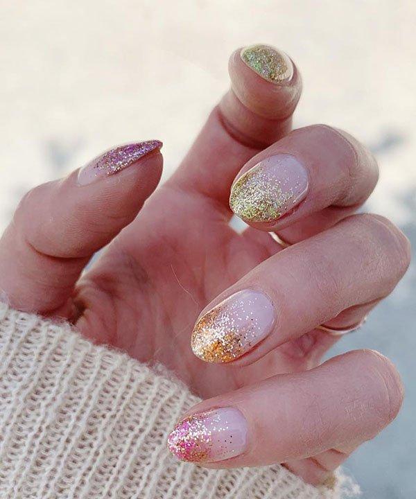 baby boomer - esmalte para o verão - esmalte com glitter - unhas com glitter - tendências de esmalte - https://stealthelook.com.br