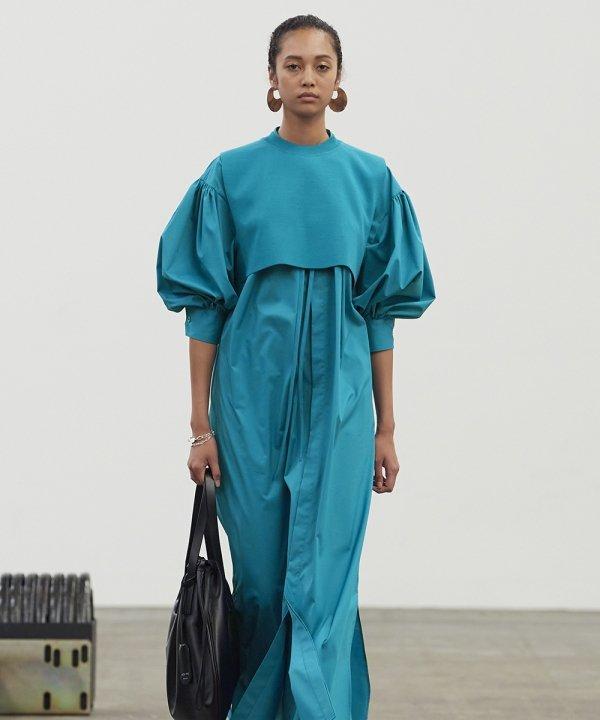 HYKE - 2022 - azul - Primavera - Verão - Tokyo Fashion Week - https://stealthelook.com.br