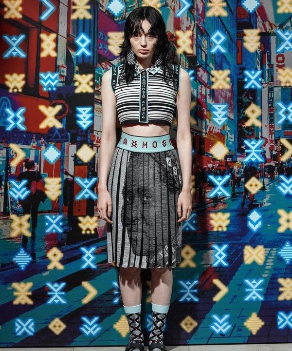 FACE A-J / MAXHOSA AFRICA - 2022 - técnicas especiais de costura e modelagem - Primavera - Verão - Tokyo Fashion Week - https://stealthelook.com.br