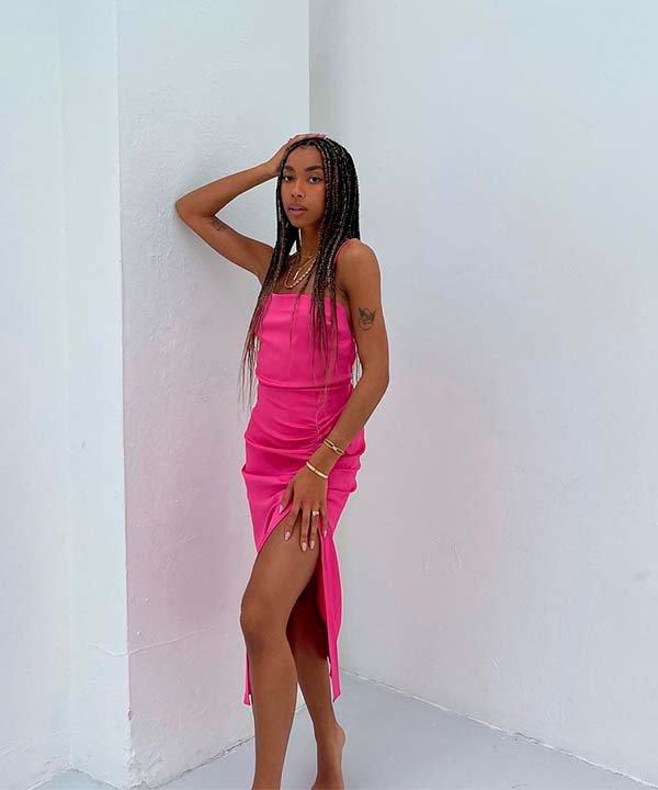 Amaka Hamelijnck - vestido - vestidos midi - primavera - brasil - https://stealthelook.com.br