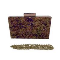 Bolsa Clutch de Acrílico Ref.98277D - Lu Acessorios