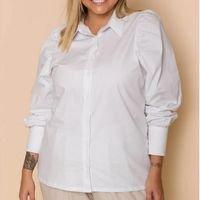 camisa manga bufante manu branca