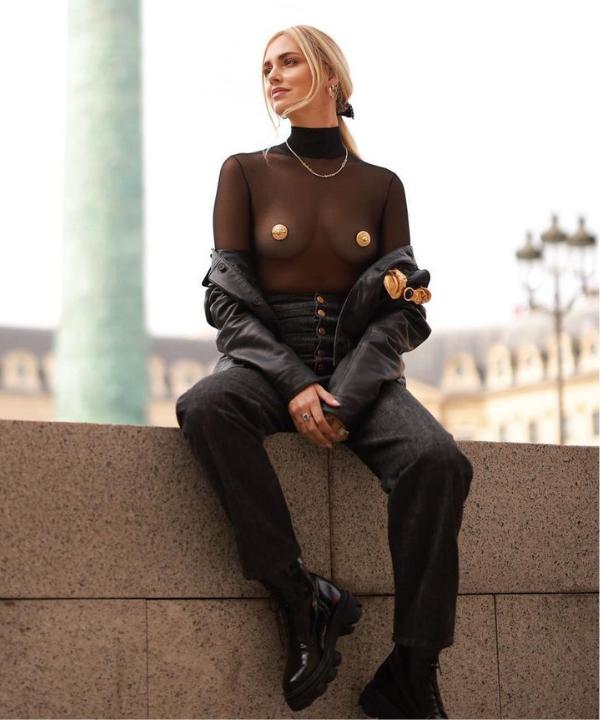 Chiara Ferragni - Casual - Semana de Moda de Paris - Verão - Steal the Look - https://stealthelook.com.br