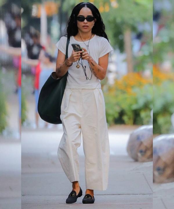 Zoë Kravitz - Street Style - sapato tendência - Verão - Steal the Look  - https://stealthelook.com.br