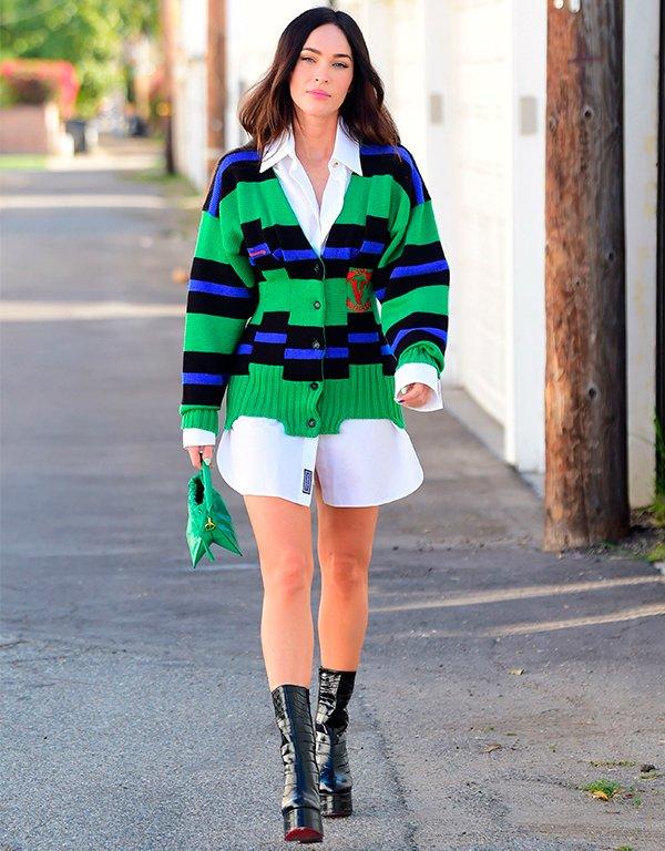 Megan Fox - Megan Fox - Megan Fox - Primavera - Street Style - https://stealthelook.com.br