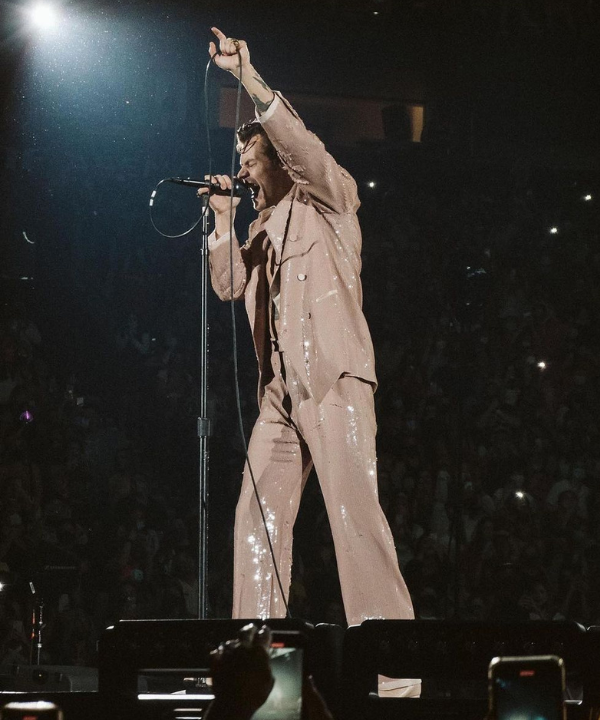 Harry Styles - Show - Harry Styles - Outono - Nashville - https://stealthelook.com.br