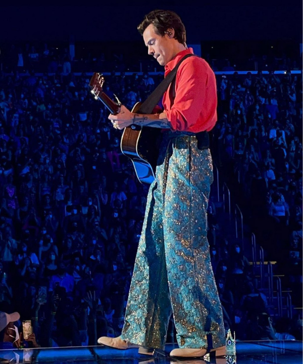 Harry Styles - Show - Harry Styles - Outono - Detroid - https://stealthelook.com.br