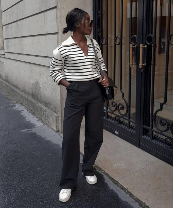 Aïda Badji Sané - Casual - peças básicas - Primavera - Steal the Look  - https://stealthelook.com.br