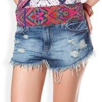 Shorts Rasgado
