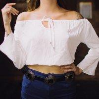 blusa ciganinha