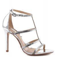 Sandália T-Strap Silver