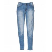 calça jeans destroyed rasgada