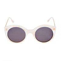 óculos branco redondo