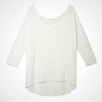 blusa manga basica lisa