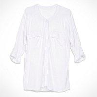 camisa longa vestido