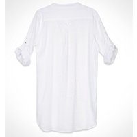 camisa vestido longa chemise