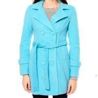 Trench Coat Azul