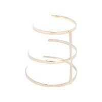Bracelete Dourado de Tiras