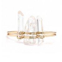 pulseira pedra cristal