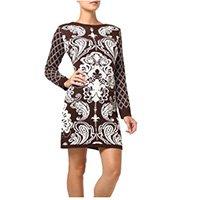 vestido pompeia marrom