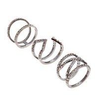 anel multiplo prata