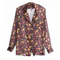 Camisa Pijama Floral