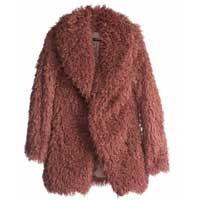 casaco pele fofo