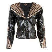 jaqueta bordada